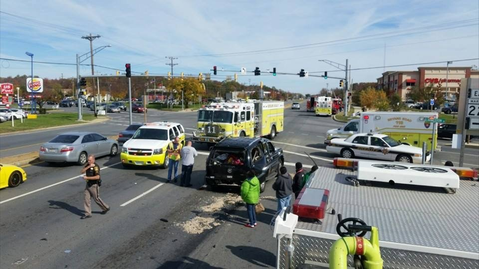 MVC Involving A Tractor Trailer Results In A Door Pop