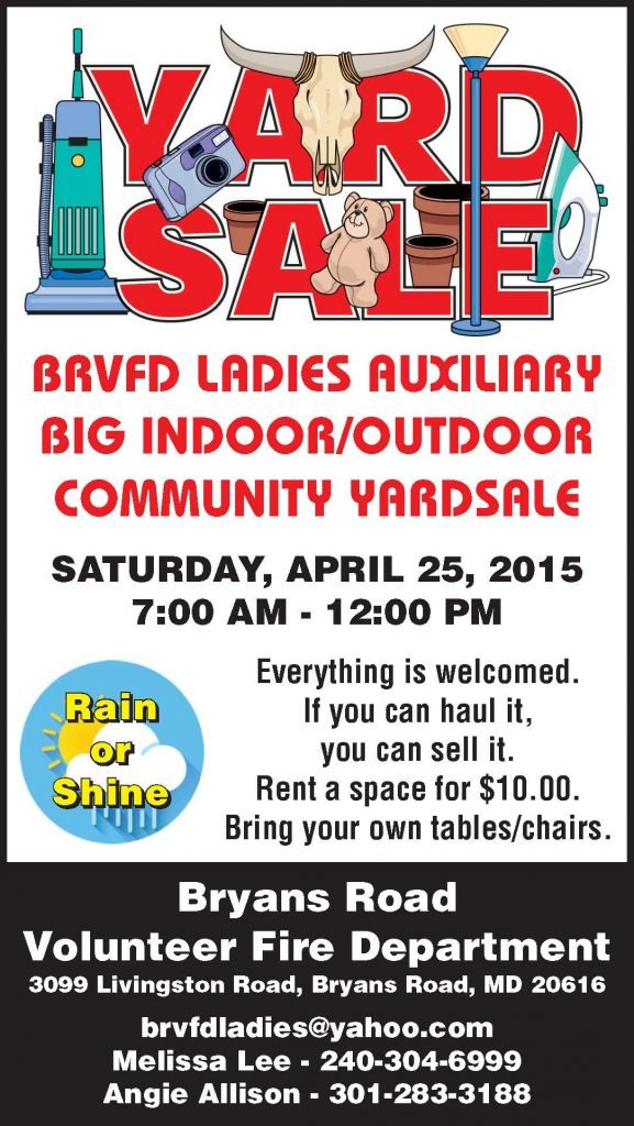 Indoor/Outdoor Community Yardsale
